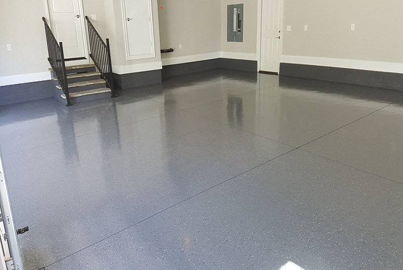 Superior Garage Epoxy Flooring In The Lake Norman Area